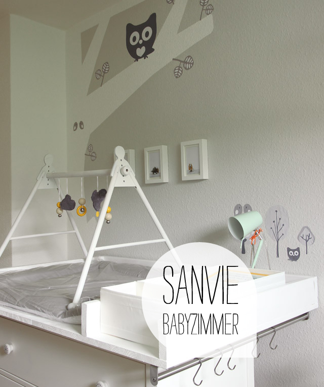 sanvie babyzimmer w nde streichen sanvie mini. Black Bedroom Furniture Sets. Home Design Ideas
